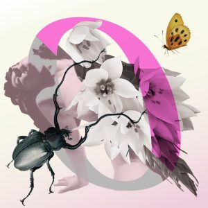 Logo van de podcast Ongehoord (illustrator Choi Wong)